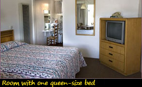 Room With One Queen-Size Bed